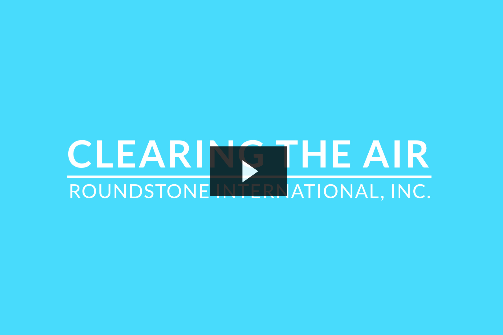 Clearing the Air Video