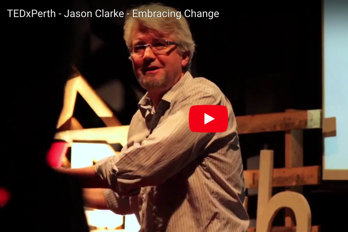 Embracing Change by Jason Clarke